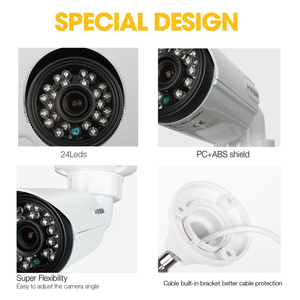 Image 2 - H.VIEW 1080P Camera Surveillance AHD Surveillance CCTV Analog Camera High Resolution IR Cameras PAL NTSC Outdoor Video Cameras
