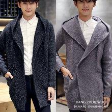 WQD642 font b men s b font fall 2016 new Korean fashion Hooded font b Sweater