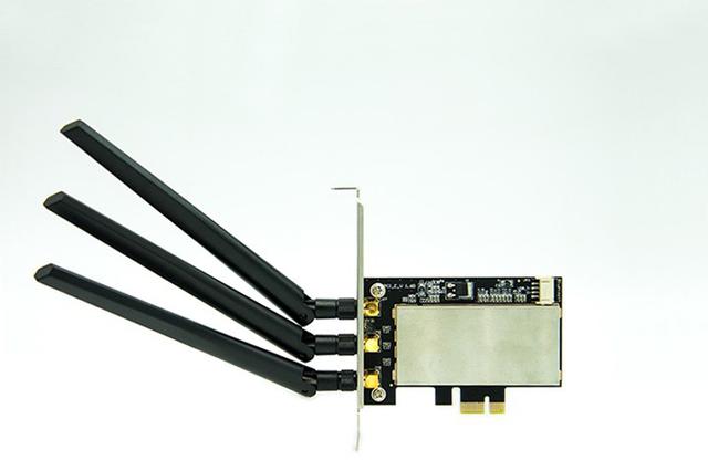 Mini PCI-E para PCI-E Área De Trabalho Cartão Convertido Adaptador Bluetooth Sem Fio w/3 Antena
