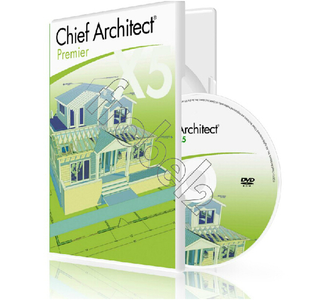 Chief Architect Premier X5 With Library Home Design Software Free Shipping