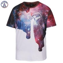 Mr.1991INC Classic New Pour Milk T-shirt Men/women 3d Tshirt Space Galaxy T shirt Brand Fashion Summer Tops Tees