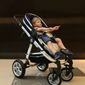 High landscape alabeibei stroller baby stroller children summer pram four-wheel shock cart
