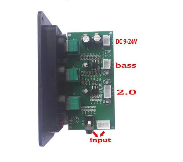 Ne5532サブウーファー2.1プリアンプ低音高音オペアンププリアンプボリュームトーン用デジタルパワーアンプloudsperkerでパネル