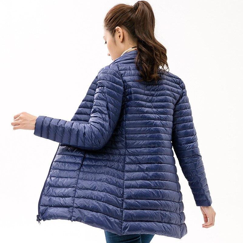 90% White Duck   Down     Coats   Women Winter Jacket   Coat   Ultra Light Warm Parka Woman Long Jackets   Coats   Female Casual Parkas Outwear