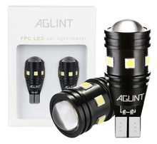 AGLINT 2PCS High Bright 400 Lumens 912 921 T15 W16W Led 3030 Bulbs for Car LED Back-up Light Reverse Lamp Xenon White
