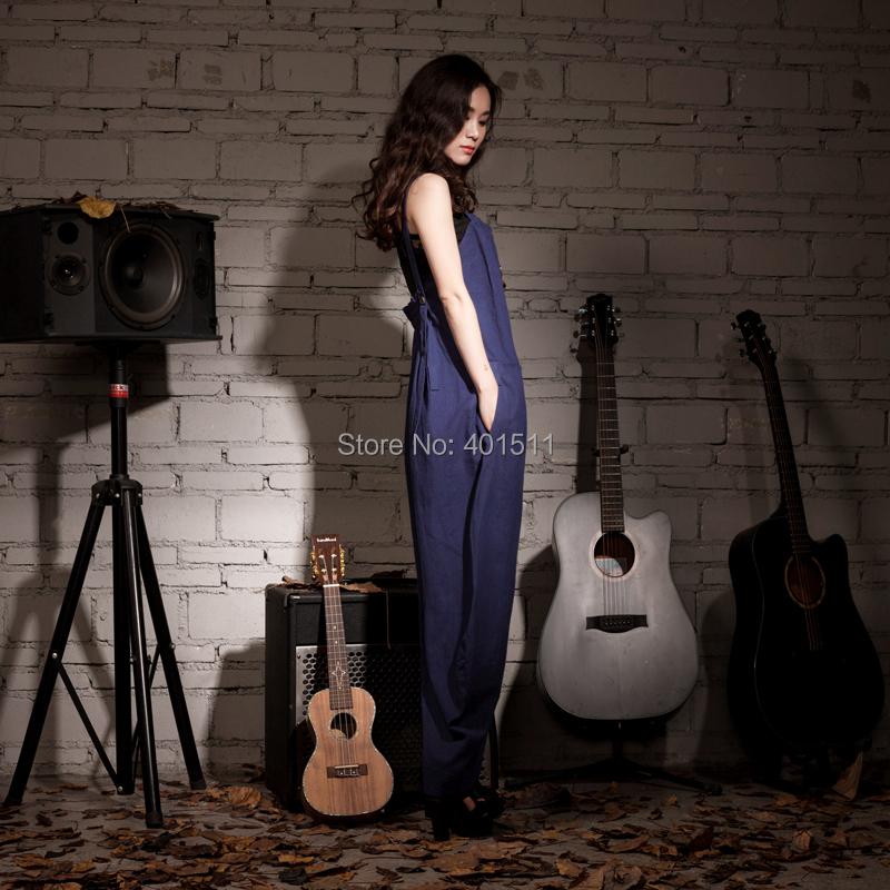 p005 Сид 2015 новый большой размер лето стиль детский Burton сочетает женщин сочетает широкий длинные брюки сочетает ворот