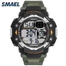 цена Smael Watch Men Top Luxury Brand Sport Watch Electronic Digital Male Wrist Clock Man 50M Waterproof Men's Watches montre homme онлайн в 2017 году
