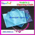 Lc137 Naddle grande tamanho 400 x 400 mm 1 microfibra óculos pano de limpeza pode ser lavado de água para o uso repetido