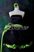 Black Dress (2) Lolita Cosplay Costume E001
