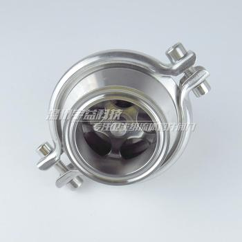 Authentic stainless steel SUS304 material hygienic grade food quick check valve, valve