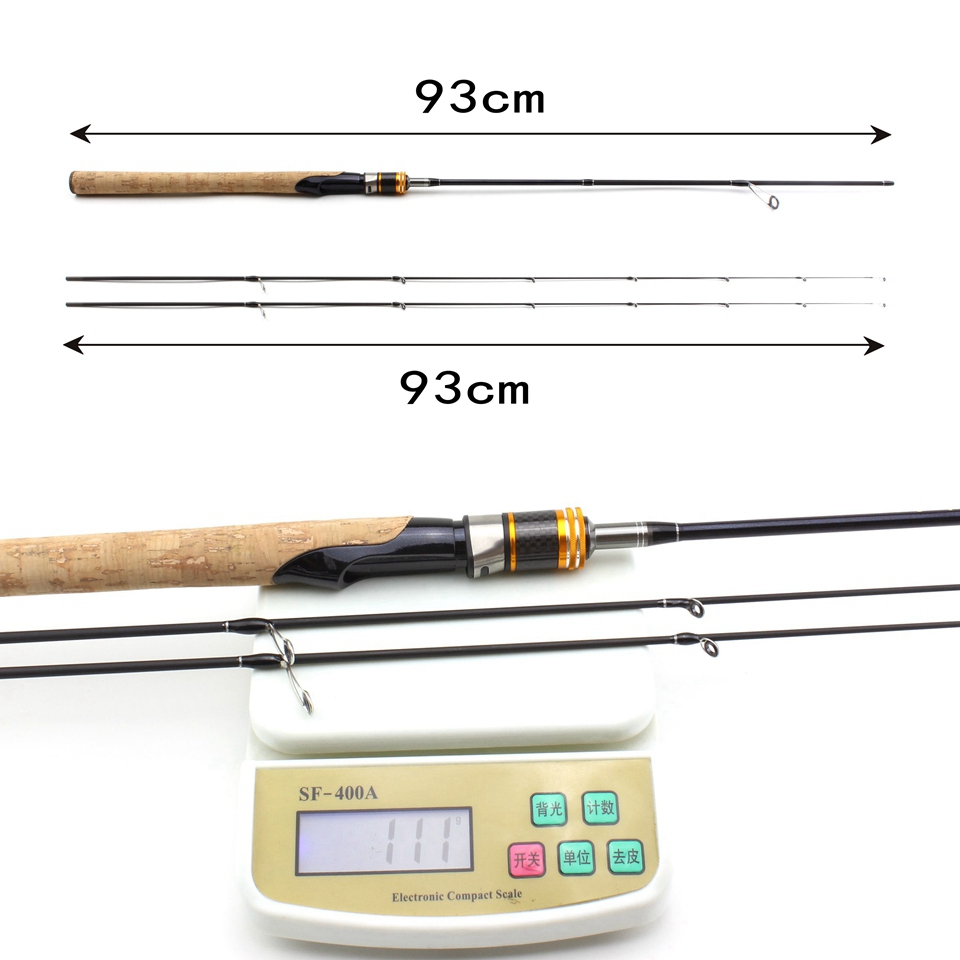 Carbono Varas De Pesca Isca 1.5-5g Ultra