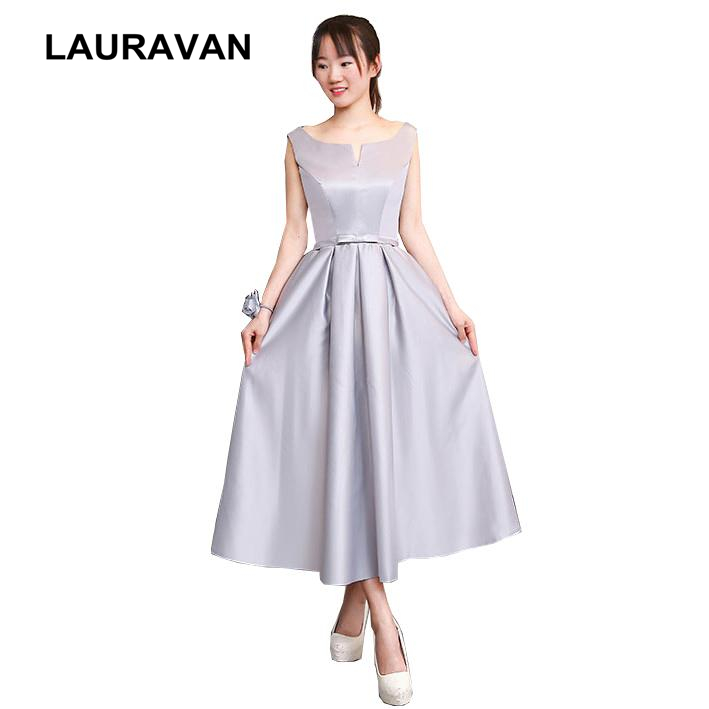 style gray ladies ball gown robe de   bridesmaid     dress   teen formal occasion party   dresses   for girls gowns for party and wedding