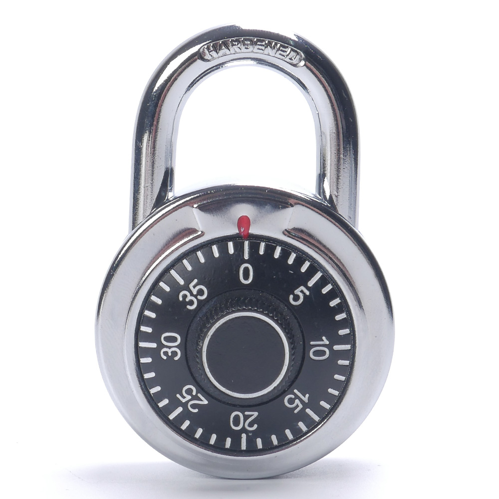 1PC Rotary Padlock Digit Combination Code Lock Safe Round Dial Number Luggage Suitcase Security Luggage Locks