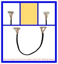 Panel LCD LVDS cable para DN2800MT/D2700MT/DH61AG/DQ77KB/D2500CC Mini-itx motherboard