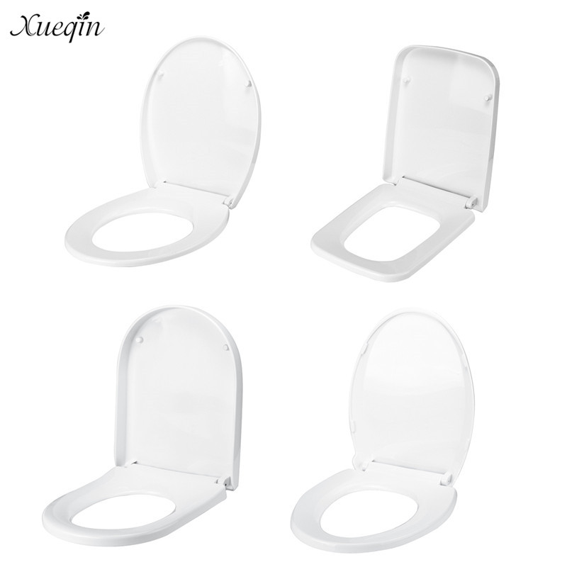 Strange Us 26 1 42 Off Xueqin Pp Thicken Replacement Antibacterial Square Round O V Type Toilet Seats Universal Slow Close Toilet Seat Lid Cover Set In Inzonedesignstudio Interior Chair Design Inzonedesignstudiocom