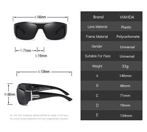 Image 2 - VIAHDA DESIGN Men Classic Polarized Sunglasses Male Sport Fishing Shades Eyewear UV400 Protection