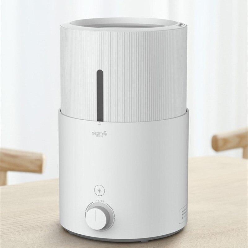 лучшая цена Xiaomi Mijia Deerma 5L Air Humidifier Ultrasonic Humidifier Water Purification Shortage Protection 12 Hours of Endurance White