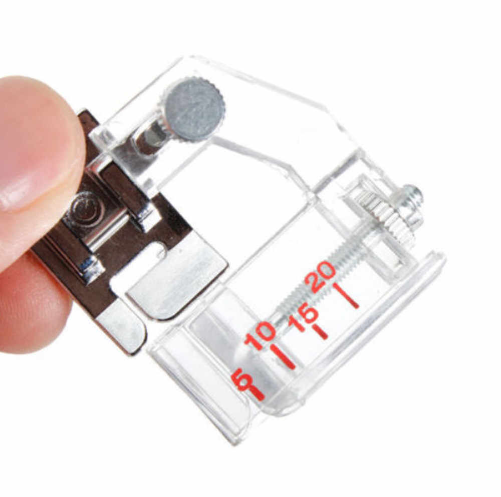 1PC Hot Sale Domestic Sewing Machine Foot Adjustable Bias Home Adjustable Bias Binder Presser Feet for Brother Singer Sewing