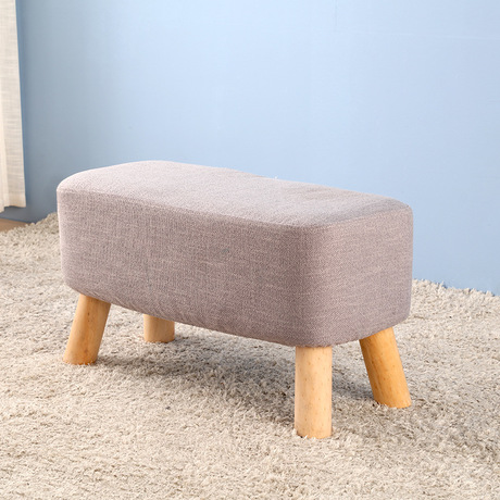 Stools & Ottomans Living Room Furniture Home Furniture fabric+solid wood stool tabouret bois minimalist sgabello 60/90*29.5*35cmStools & Ottomans Living Room Furniture Home Furniture fabric+solid wood stool tabouret bois minimalist sgabello 60/90*29.5*35cm