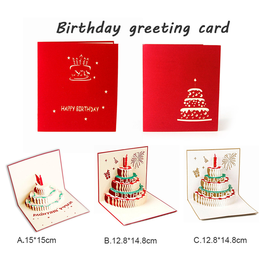 3d diy innovative handmade birthday greeting card thank you card 1diy innovative 3d greeting card m4hsunfo