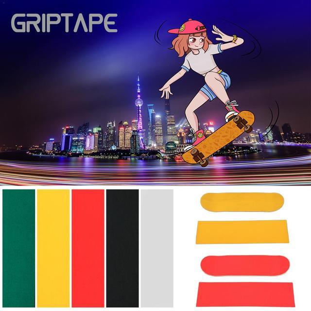 84*23cm Wear-Resistant Thickening Skateboard 4 Wheel Sandpaper Griptape Large Deck Sandpaper Griptape For Skateboarding 2