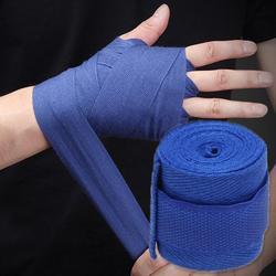 Боксерский бандаж, 2,5 м, спортивный ремешок для бокса, повязка для рук, Muay, MMA, перчатки для тхэквондо, плотный ремешок для защиты рук