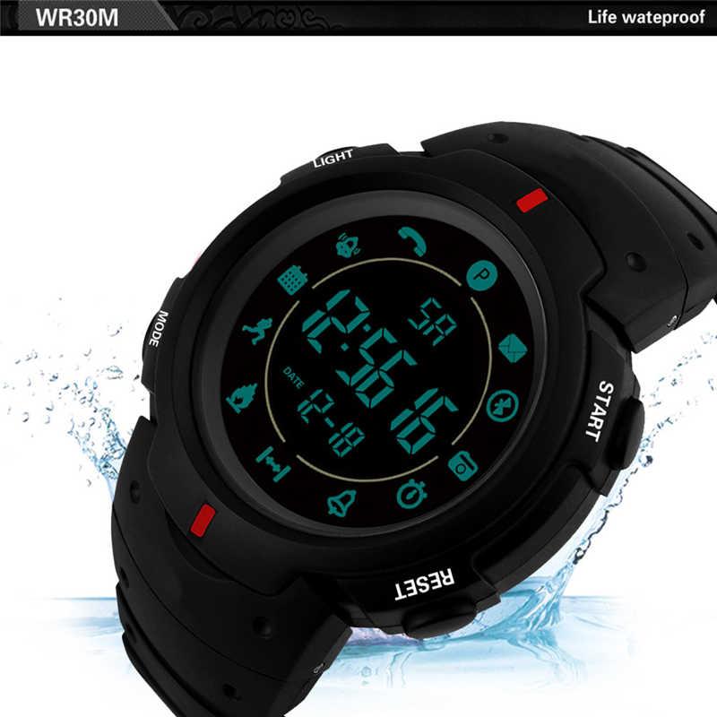 Impermeable insignia resistente hombres reloj, reloj de la marca de lujo de 24 h-Vigilancia casuales de los hombres Relogio reloj