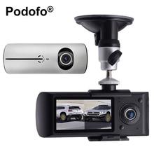 2.7 Pulgadas de Doble Lente Del Coche DVR X3000 R300 Dashcam Video Digital grabador de cámara de la Rociada con GPS G-sensor 140 Grados de Ángulo Ancho