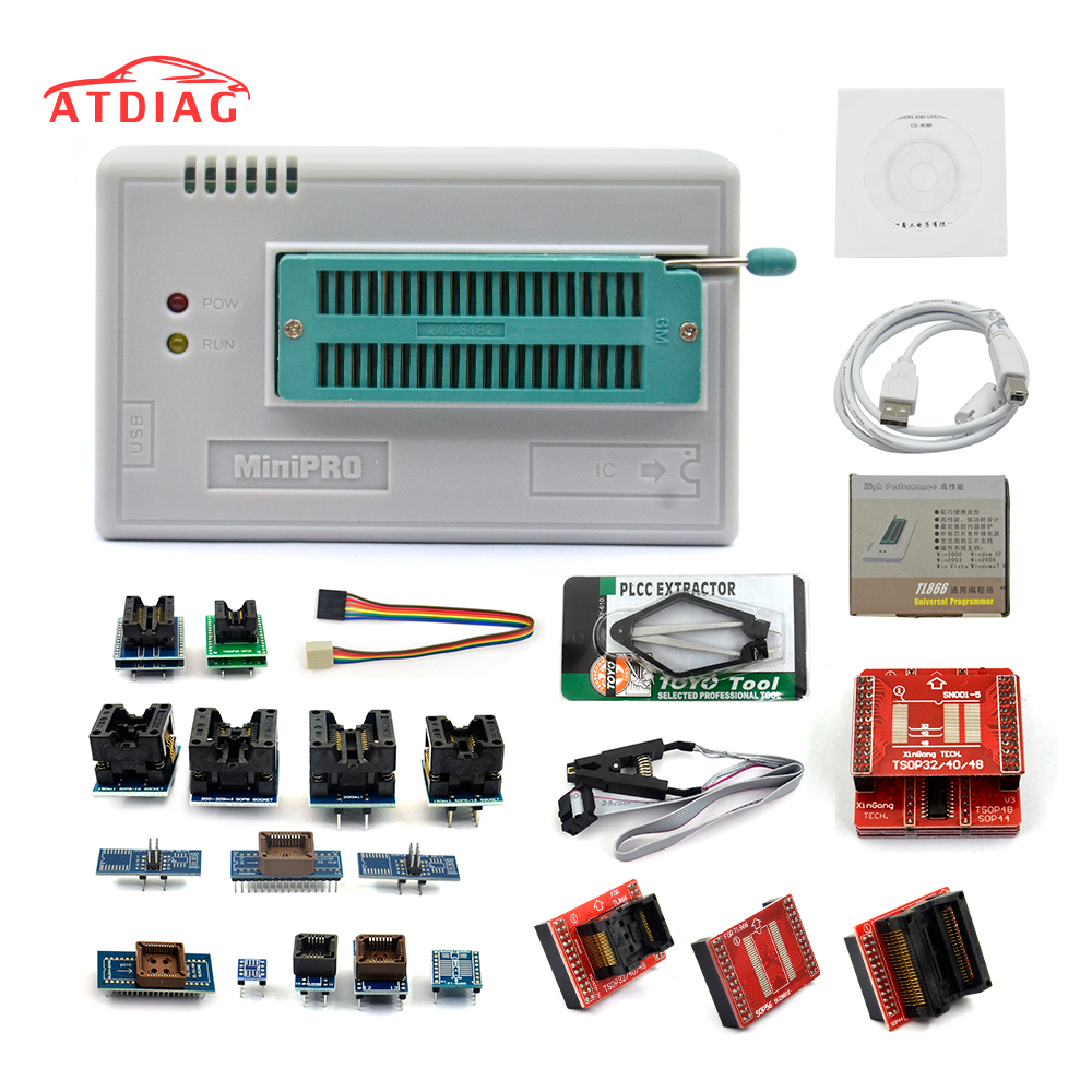 V721 Tl866ii Plus Tl866a With 21 Adapter Usb Universal Programmer 3m Small Outline Integrated Circuit Test Clips Sotc8 Bios Ecu