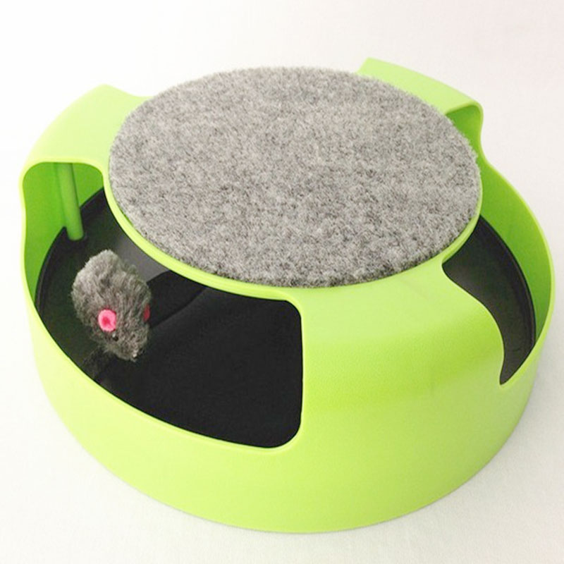 Pet Cat Toy Crazy Training Funny Toy For Cat Mouse Toy Catch the Motion Mouse interactive Cat Training Play Activity pet supply