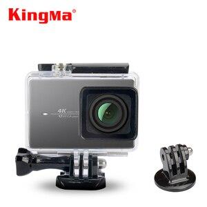 Image 1 - KingMa 45m 다이빙 방수 케이스 방수 하우징 샤오미 Xiaoyi 이순신 액션 카메라 II 2/샤오미 이순신 4K 스포츠 카메라 2