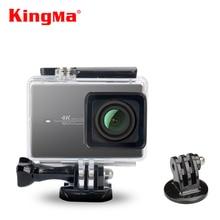 Kingma 45 メートルのダイビング防水ケース防水ハウジング xiaomi xiaoyi 李アクションカメラ ii 2/xiaomi 李 4 18k スポーツカメラ 2