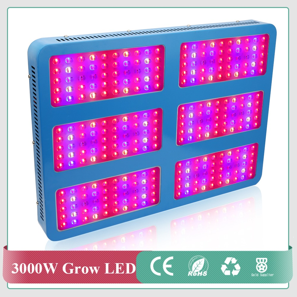 Newest 3000W high power chips LED Grow Light Full Spectrum 410-730nm For Indoor Plants and Flower Phrase with Very High Yield russian phrase book