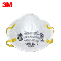 20 pcs/box 3M 8210 Dust Mask N95 Particulate Respirator Anti PM2.5 Industrial Dust proof Working Safety Anti Particulate Masks