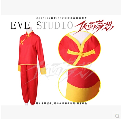 Нови популярни аниме GINTAMA Cos Kagura Cosplay - Карнавални костюми - Снимка 2