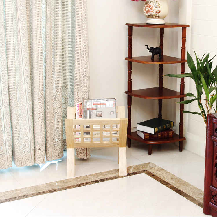 100% Solid Wood Magazine Racks, Shelves, Living Room Decoration,office  Furniture,floating Book Bookshelf,book Shelf,wooden Shelf In Bookcases From  Furniture ...