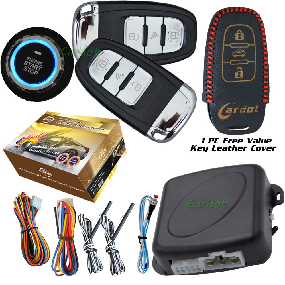 Smart Car Security System Passive Keyless Entry Auto Lock