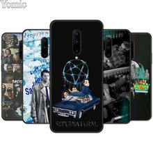 Supernatural Jared Padalecki Silicone Phone Case for Oneplus 7 7 Pro 6 6T 5T Black Case for Oneplus 7 7Pro Soft TPU Cover Shell