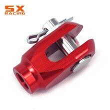 Motocross CNC aluminium tylny hamulec Clevis do HONDA CR80R CR85R XR 50 100 230 CRM250R CRF250 XR250 XR400 XR650R TRX450R TRX400EX