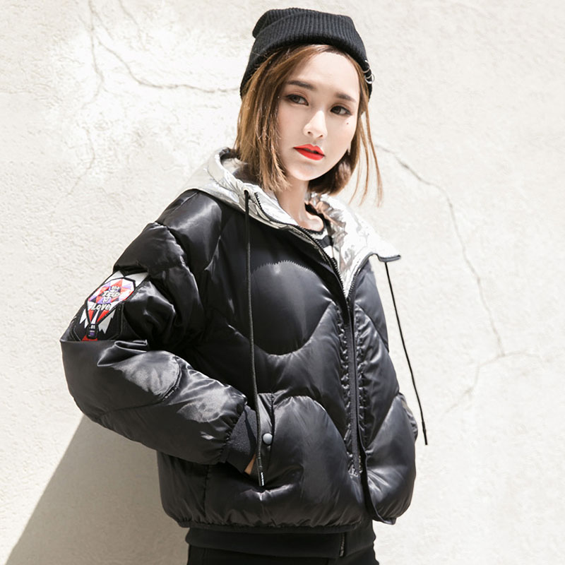 Women's   Down     Coat   Winter White Duck   Down   Jacket Women Hooded Parkas 2019 New Arrival Thickening Warm Puffer Jacket And   Coats