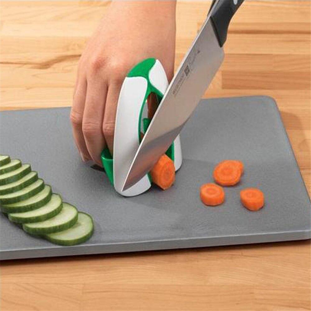 Nonslip Soft Grip Finger Protector Hand Guard Knife Vegetable Shredders Slice 2861 Chop Shield Safe Protection 8*3*8.5cm