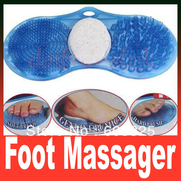 Sole Cleaner Ultimate Foot Massager Feet Pedicure Pumice Stone Brush Scrub Spa FREE SHIPPING courtin маска спа для ног courtin pedicure spa foot mask 41120 250 г