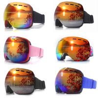 Ski Glasses Double Layers UV400 Anti fog Ski Goggles Snow Skiing Snowboard Motocross Goggles Ski Masks or Eyewear