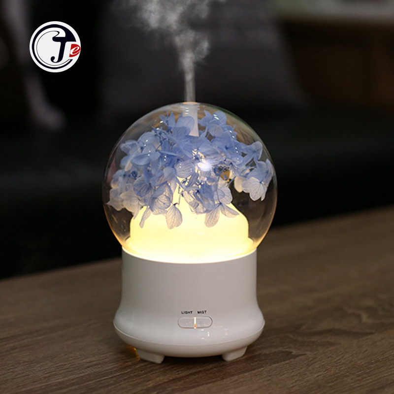 Immortal Flower Aroma Diffuser Essential Oil Air Humidifiers Ultrasonic  Aromatherapy 7 Color LED Night light for Office HomeImmortal Flower Aroma Diffuser Essential Oil Air Humidifiers Ultrasonic  Aromatherapy 7 Color LED Night light for Office Home