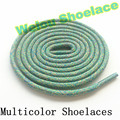 Weiou Multi color rope laces running shoestring 125cm/49'' Length Sport multicolor shoelace for basketball jogging shoes