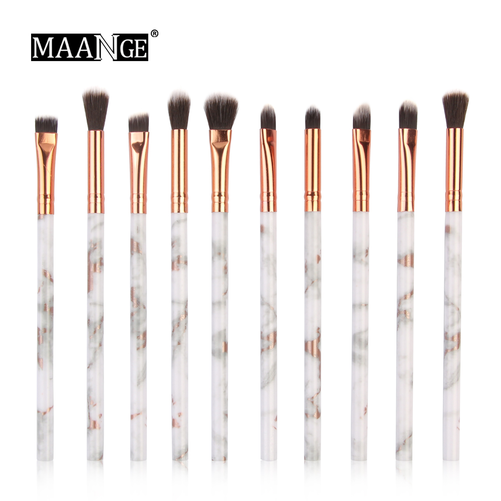 MAANGE Make up brush 10Pcs Multifunctional Makeup Brush Concealer Eyeshadow Brush Set Mini Brush Makeup Tool(China)