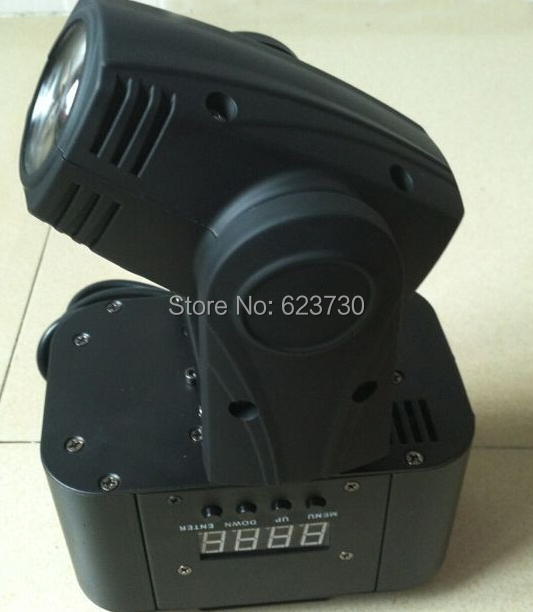 Big Sale Freeshipping 10W 4in1 Cree RGBW LED Moving Head Beam,Mini Moving Head Beam Light With 110-240V For Xmas Holiday