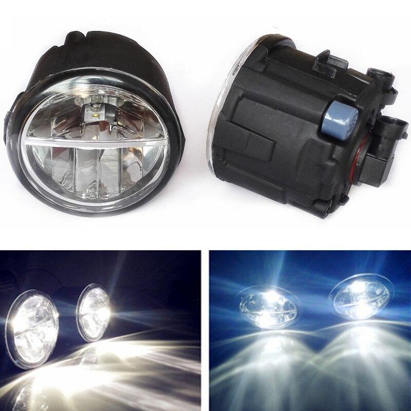 For Infiniti QX70/56 Q70/60 Sedan Coupe 2006-2014  Car styling LED Fog Lights 10W DRL fog lamps 1set