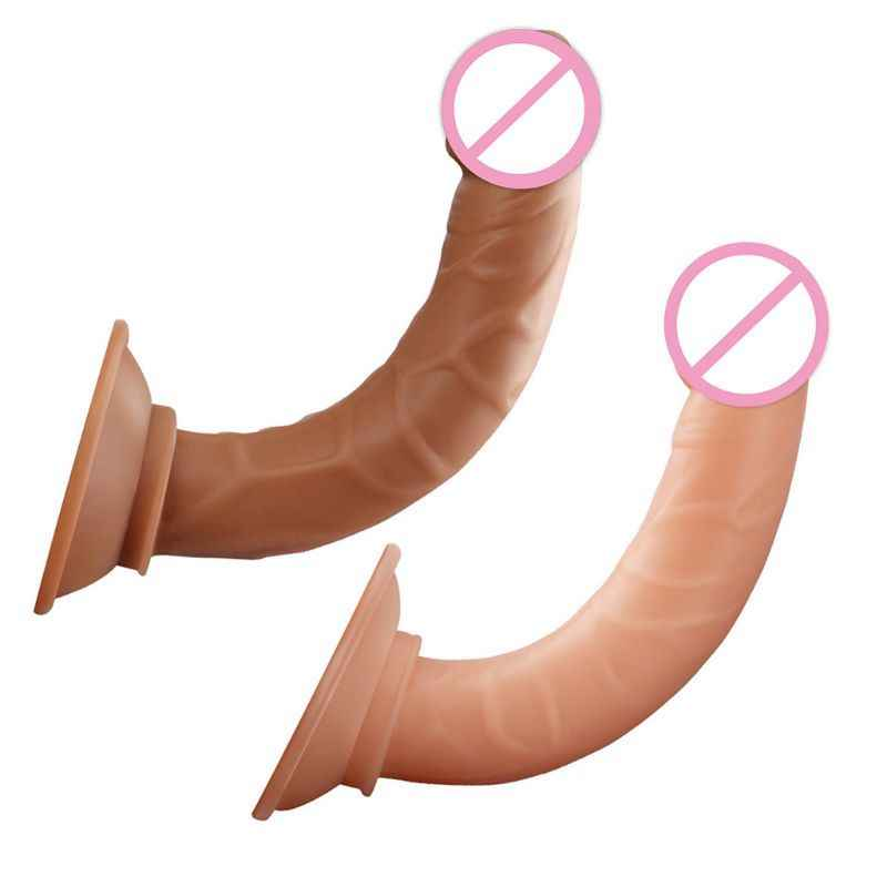 Realistic Dildo with Suction Cup Penis G-spot Anal Plug Adult Sex Toys for Women Men