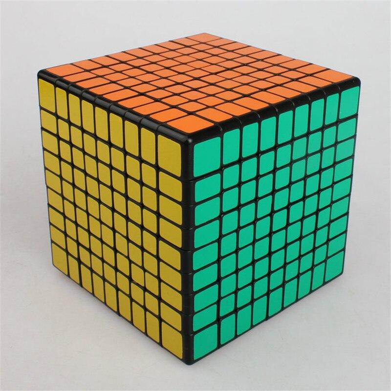 Cube magique éducatif Rubike 9*9*9 Puzzle Cubes jeux professionnel Anti-Stress Anti-Stress jouets pour enfants enfants adultes